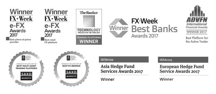 actior SaxoTraderGO Auszeichnungen 2017